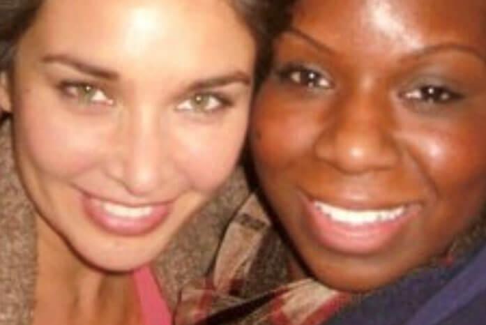 Lisa Ray ( Movie Star ) with Leslie texas star rehab